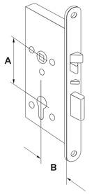 Serrures anti-panique motorisée à verrouillage automatiqueDORMA SVP 2000