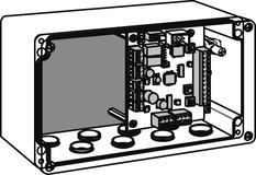 Platine de commande de serrures DORMA SVP-S2x pour SVP 2000