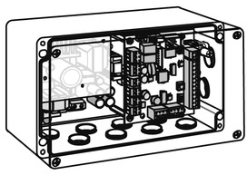 Motorschlosssteuerung DORMA SVP-S2x zu SVP 2000