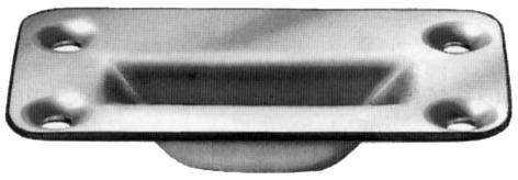 Bodenschliessmulden BKS B 9009
