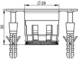 Bussole da pavimento BKS B 0028