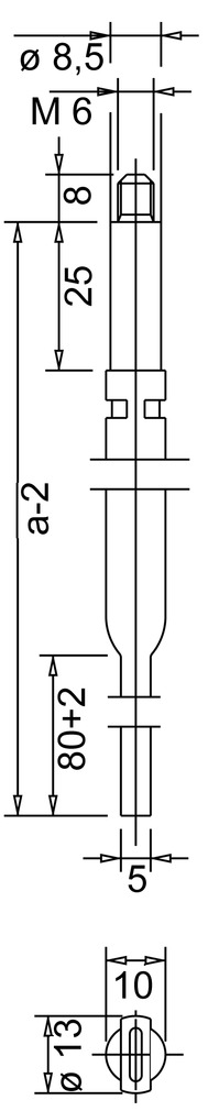 Bacchette per cariglioni BKS 9006