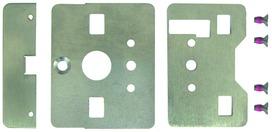 Set Holzmontage INOX für Druckstangen MSL eBar