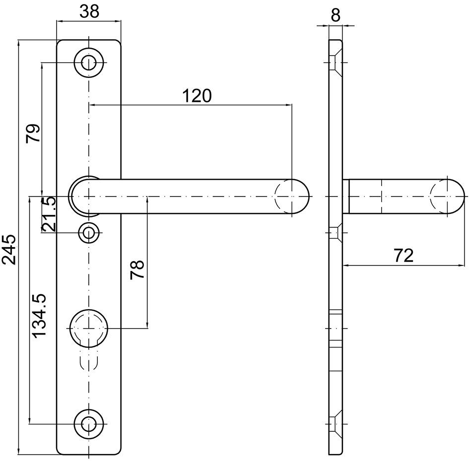 Cartelle lunghe con maniglia MSL 5974