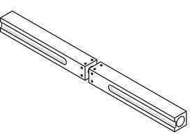 Perni di raccordo MSL 5968 per serrature MSL e GLUTZ