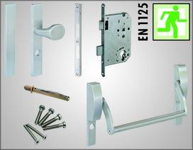 Kit per vie di fuga MSL per porte a 1 anta secondo EN 1125