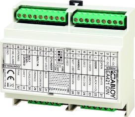 Motorschloss-Steuerung eff-eff 509XSTRG-421DIN
