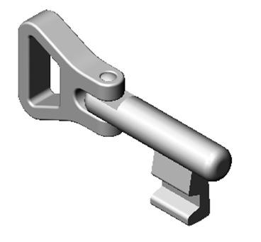 Clés avec anneau mobile