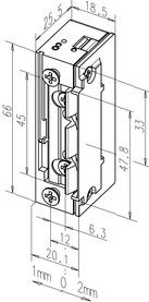 Gâches électriques eff-eff 118EY13 ProFix 2, demi-tour radial