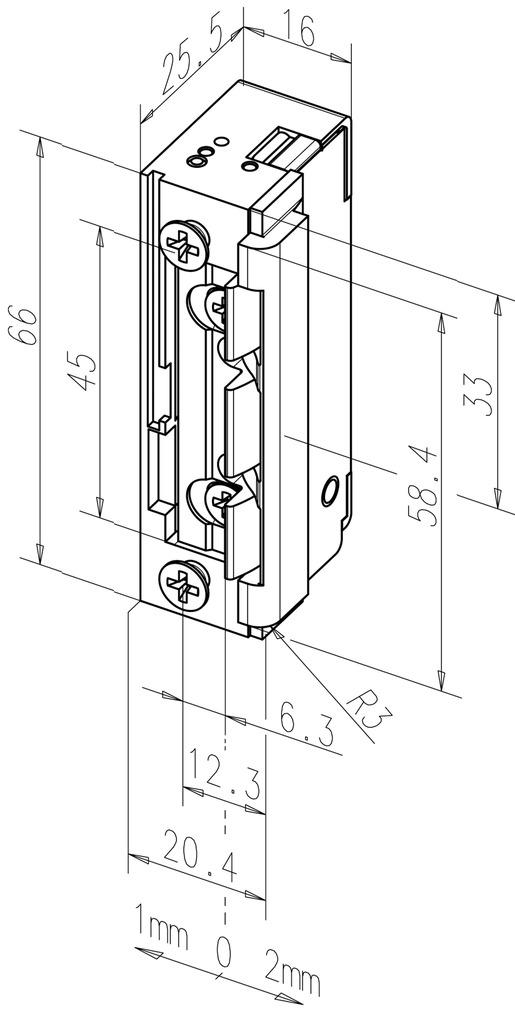 Elektro-Türöffner eff-eff 118.14 ProFix 2