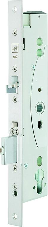Serratura per uscite di sicurezza con apriporta elettrico MEDIATOR 609