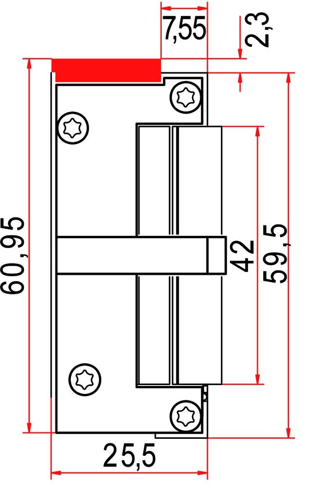 Gâches électriques GLUTZ 910704