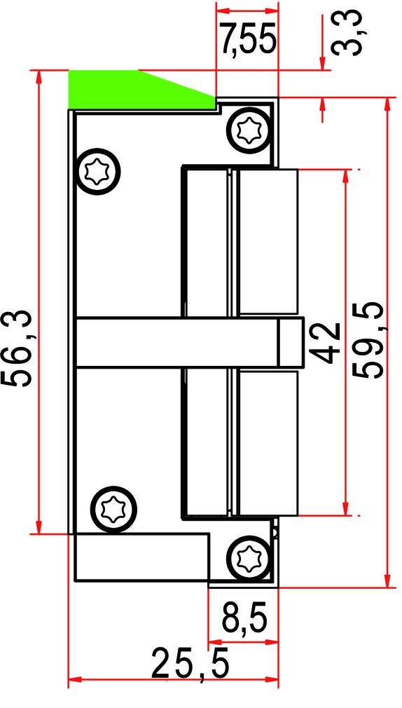 Gâches électriques GLUTZ 91076