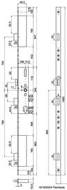 Serrature a più punti di chiusura MSL FlipLock Basis 23421