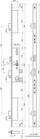 Serrature a più punti di chiusura MSL FlipLock Basis 23444 PE