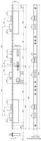 Serrature a più punti di chiusura MSL FlipLock 24544 PE-SV