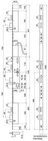 Serrature a più punti di chiusura MSL FlipLock drive 25544 PE-SV