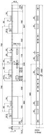 Serrature a più punti di chiusura MSL FlipLock drive 24544 PE-SV-ZF
