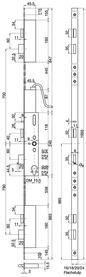 Serrature a più punti di chiusura MSL FlipLock drive 25544 PE-SV-ZF