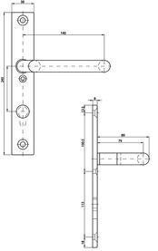 Cartelle interne con maniglia piegata a gornito MSL 5979