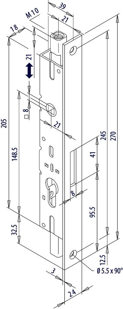 Contre-boîtes FUHR 298G