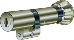 Cylindres doubles avec bouton tournant KABA 8 type 1519