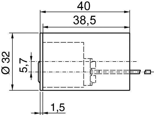 Cylindres extérieurs KABA 8 type 1508 B