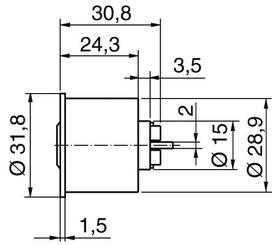 Cylindres d'interrupteurs Kaba star type M1007 F
