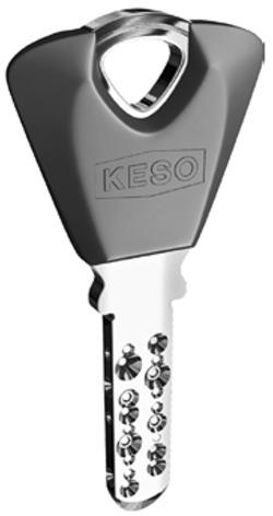 Clés pour cylindres KESO, d'usine
