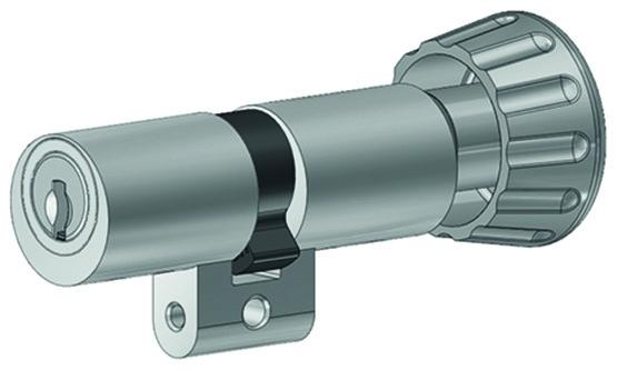 Cylindres doubles avec bouton tournant Kaba 20 type M1519