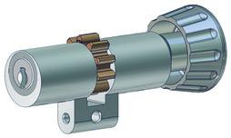 Drehknopfzylinder Kaba 20 Typ M1519 H
