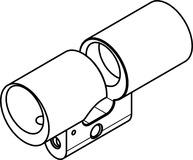 Boîtier cylindre double RZ Kaba Modular type 2215 A-1
