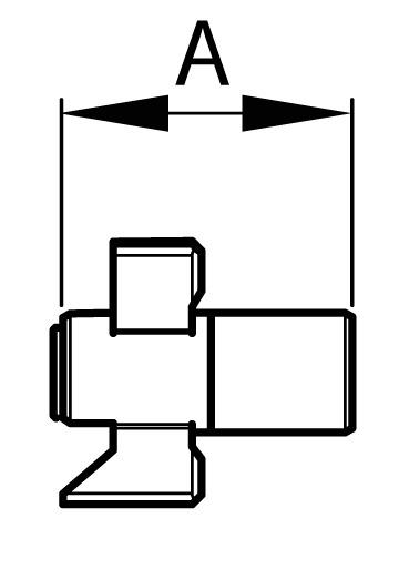 Kupplung standard Drehknopfzylinder Kaba Modular