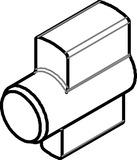 Accouplement demi-cylindre Kaba Modular