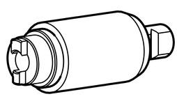 Insérer pour cylindres doubles avec bouton Kaba Modular
