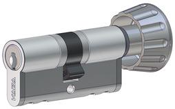 Profil-Drehknopfzylinder 17 mm Kaba star Typ M1419