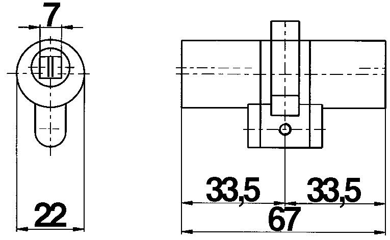 Cylindres doubles MEGA