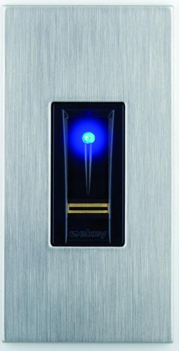 Système d'empreintes biométrique ekey pour MSL FlipLock