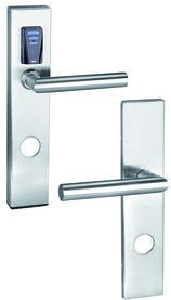 E-Beschlag GLUTZ eAccess breit Stahl Public 80510
