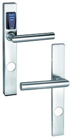Ferramenta elettr. GLUTZ eAccess Public acciaio (strette) 80550