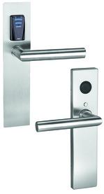 Ferramenta elettr. GLUTZ eAccess Privat acciaio 80125