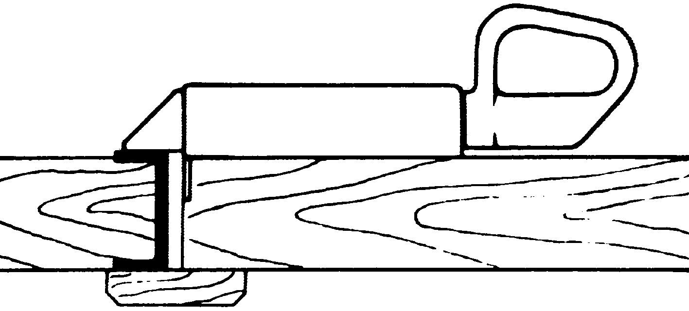 Serrature per porte sull'aia WEBI 206
