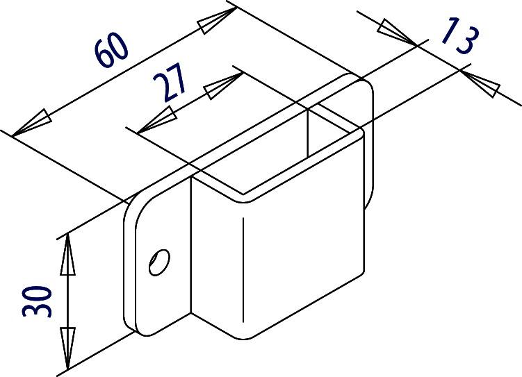 Conduites pour tringles FUHR 925B