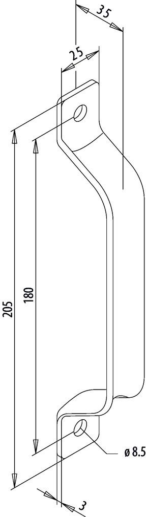 Poignées de porte FUHR 931