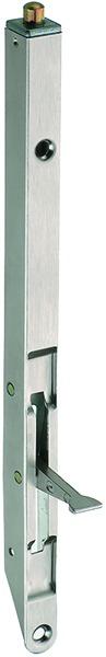 Targette à entailler PLANET KRpour porte à 2 vantaux avec seuil de fermeture PLANET largeur profil 13 mm et 20 mm
