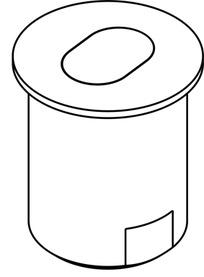 Bussole da pavimento per serrature a cariglione HAWA