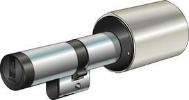 Cylindes doubles avec bouton tournant Kaba elolegic type 1519ELCC