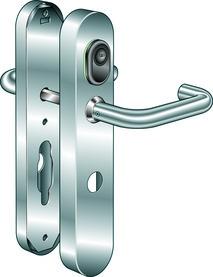 Sistema apriporta B380 Kaba elolegic c-lever breit