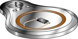 Porte-clés Kaba 1502EL-2