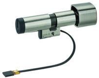 Cylindres doubles avec bouton tournant KABA evolo 1549-K5/MRD/E300/BSZ mécatronique têtière